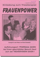 2007: Frauenpower